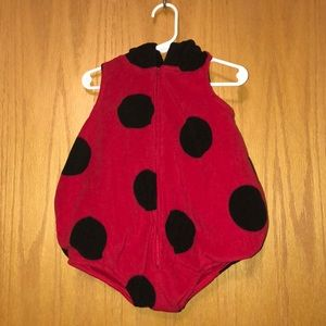 lady bug costume for baby